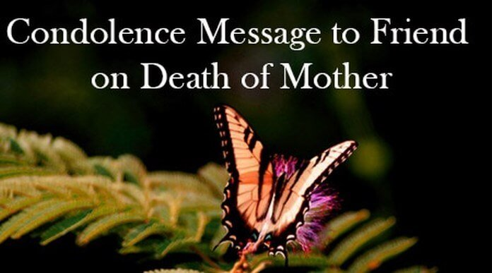 On Death of a Mother